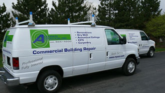 Accurate Accoustical Service Van